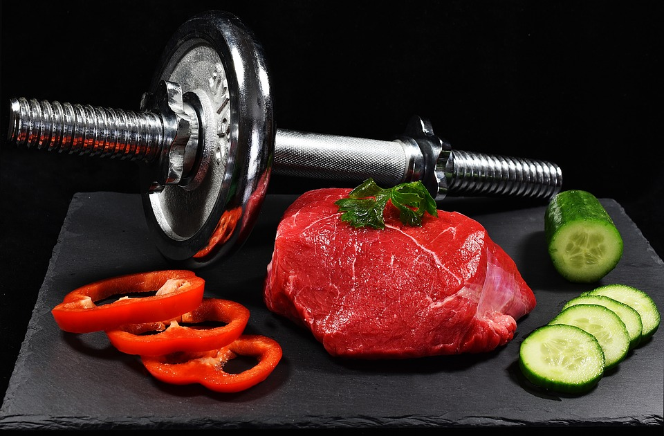 Činka, maso a zelenina