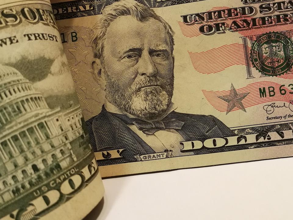 USA dolary