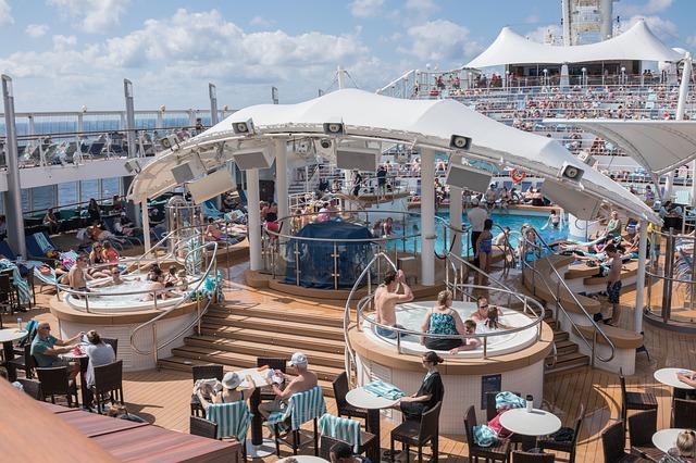 vířivky na lodi