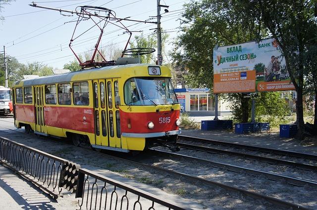 ruská tramvaj